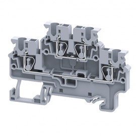 Double Level Spring Clamp Terminal Blocks connectwell CXDL2.5