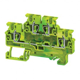 Double Level Earthing Terminal Blocks connectwell CXDLG2.5