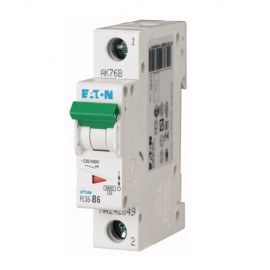 PLS6 miniature circuit breaker EATON 6kA