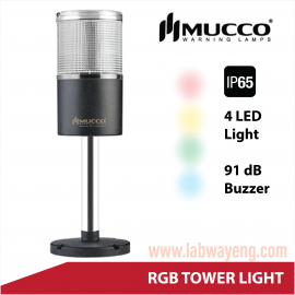 Mucco, RGB Warning Light , Tower light , Tower light หลายสี , Tower light IP65 , Tower Light กันน้ำ