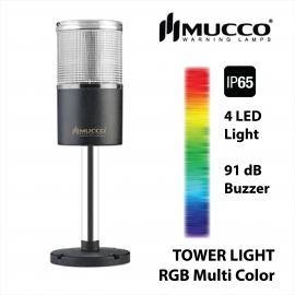 Mucco, RGB Warning Light , Tower light , Tower light หลายสี , Tower light IP65 , Tower Light กันน้ำ, ไฟสัญญาณ ทาวเวอร์ไลท์ กันน้ำ,