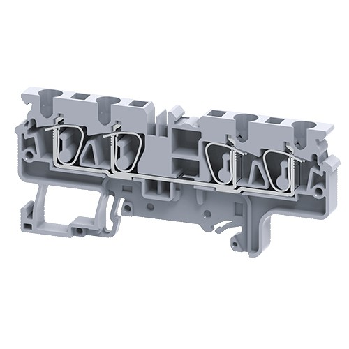 Spring Clamp Feed Through compact Terminal Blocks connectwell CX4/4