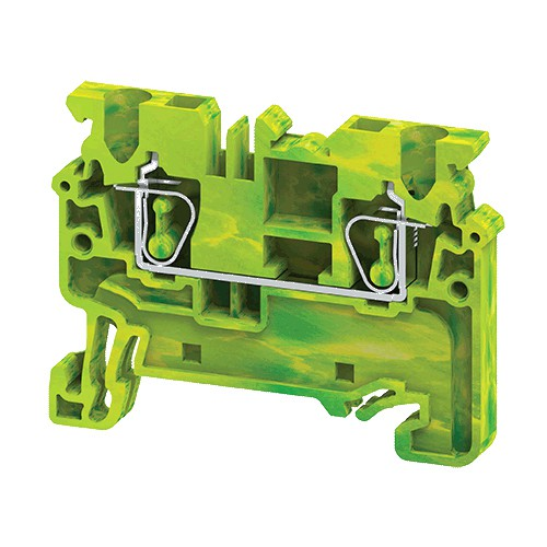 Ground/Earth Spring Clamp Terminal Blocks connectwell CXG2.5